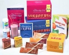 Cambridge Diet easy product range