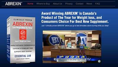 official Abrexin website