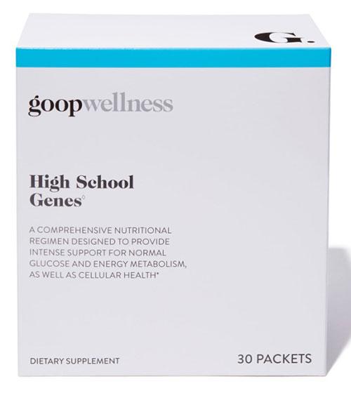 A Look Inside Goop's High School Genes