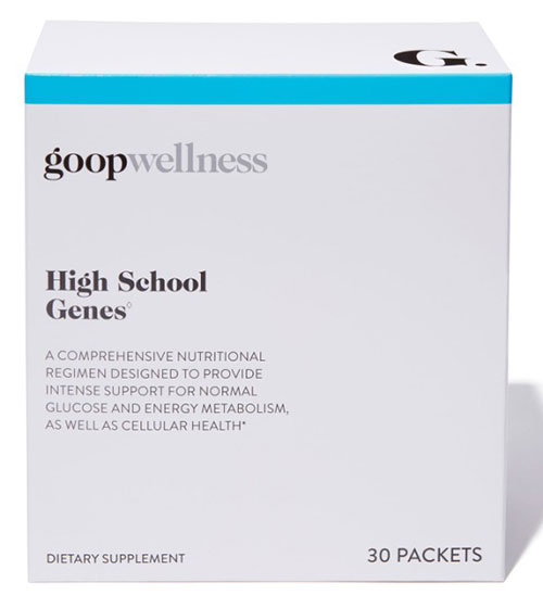 A Look Inside Goop's High School Genes