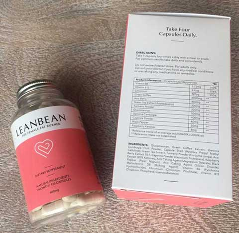 LeanBean Ingredients